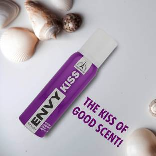 ENVY Kiss Deodorant Spray  -  For Women
