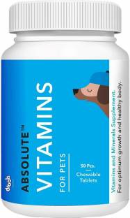 drools Absolute Vitamins Tablets 50pcs Pet Health Supplements