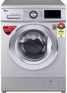 LG 8 kg 5 Star Fully Automatic Front Load with In-built Heater Silver