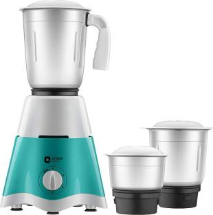Orient Electric by orient electric Blaze MGBL50TG3 500 W Mixer Grinder (3 Jars, Torquoise Green, Silver)