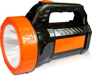 Pick Ur Needs ABS Quality Ultra Bright Rechargeable Emergency Search Torch Lights Torch