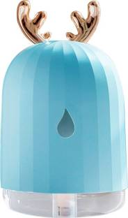 InOne Cool Mist Humidifier Air Purifier for Home Office Baby Bedroom with colorful LED light,Fan Funct...