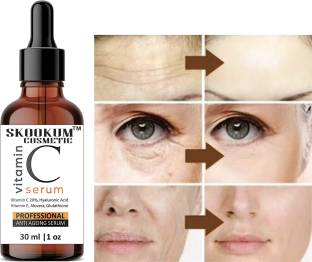 SKOOKUM Vitamin C + E Serum for Face with Hyaluronic Acid For Anti Ageing, Anti Acne & Skin Brightening