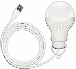 icall Presenting USB LED Bulb 5Watt 6Volts Bright Light Reading Lamp for Outdoor Camping Used with Any Laptop, PC, Power Bank & Smart Phone USB BULB Led Light