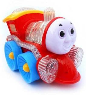 Fanatic Store Funny Loco Engine with Sound and Lighting Train for kids