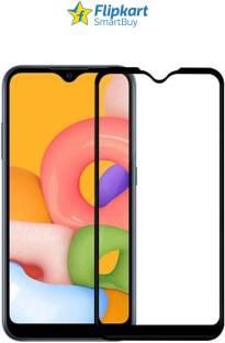 Flipkart SmartBuy Edge To Edge Tempered Glass for Samsung Galaxy A01, Samsung Galaxy A40, Samsung Galaxy M01