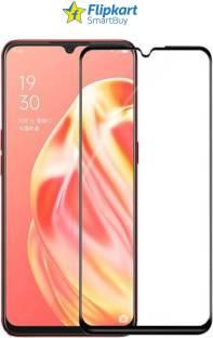 Flipkart SmartBuy Edge To Edge Tempered Glass for OPPO F15, OPPO A91