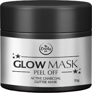 The Beauty Co. Charcoal Glitter Glow Mask