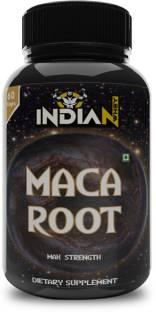 Indian Whey Maca Root Capsules for men & women 800mg Capsules, Natural Energizer 60 Capsules
