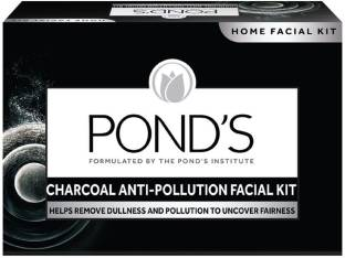 PONDS Charcoal Anti Pollution Home Facial Kit