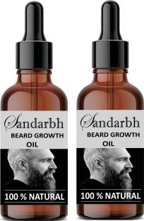 Sandarbh beard oil men for hair growth Pure Natural Paraben Free Beard Oil  Hair Oil