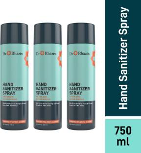 Dr Rhazes 70% Ethyl Alcohol Spray Hand Sanitizer Pump Dispenser