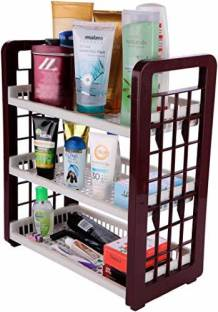 SAURA 3-Layer Multipurpose Light weight Utility Racks Fruits/Vegetables Kitchen Rack