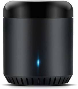 Vinayakart Black Bean Universal Remote, WiFi + IR Control Hub for Smart Home, Compatible with Alexa, O...