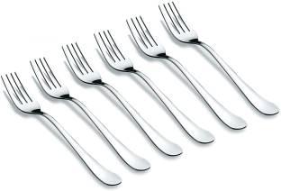 Eversteel Stainless Steel Dinner Fork -Set of 6 Stainless Steel Dinner Fork Set