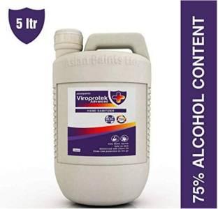 ASIAN PAINTS Viroprotek Advanced (75% v/v)  Hand Sanitizer Can