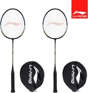 LI-NING XP-70-IV Black, Gold Strung Badminton Racquet