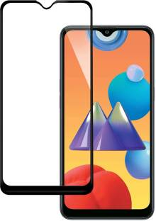 CHVTS Edge To Edge Tempered Glass for Samsung Galaxy M01s