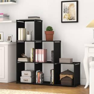 Flipkart Perfect Homes Studio Fabric Open Book Shelf