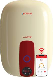 Venus 15 L Storage Water Geyser (15RW Lyra Nexus 15-Litre (Ivory/Winered),WiFi enabled, IoT , Control ...