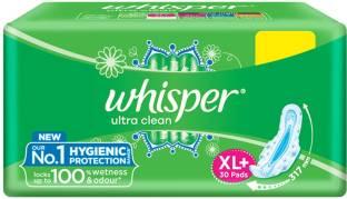 Whisper Ultra Clean XL Plus Sanitary Pad