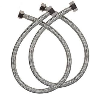 Racold 18 inch 304 Grade Stainless Steel Connection Pipe , (2 Pcs. Set) Hose Pipe