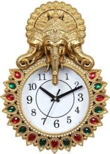STYLESWORTH ENTERPRISES Analog 18 cm X 16 cm Wall Clock