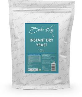 Bake King Instant Dry Yeast Powder for kulchas, naans, pizza, pao, breads making Yeast Powder
