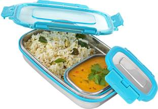 Flipkart SmartBuy Compact Steel Lunchbox 2 Containers Lunch Box