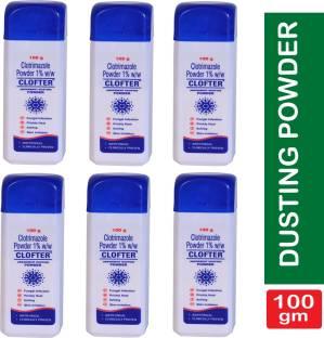 CLOFTER Antifungal Dusting Powder 100Gm each (Pack of 6)