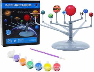 Smartcraft Learning Planet System, Planetarium Toy Set - Solar System Educational Toy for Kids- Multicolor
