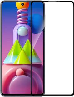 HUPSHY Edge To Edge Tempered Glass for Samsung Galaxy M51
