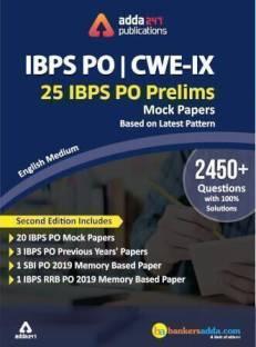 IBPS PO 2020 Prelims Mocks Papers English Printed Edition (IBPS PO Special)