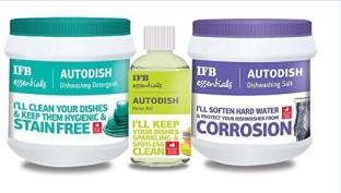 IFB Dishwasher combo pack (Detergent,salt and rins aid) Dishwashing Detergent