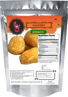 99Auth 250g Organic Pure Natural Zero Chemical Jaggery Block Jaggery