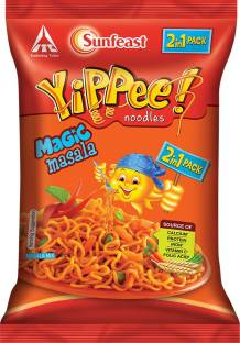 YIPPEE Magic Masala Instant Noodles Vegetarian