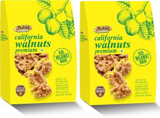 Tulsi California Kernels Premium 200Gm Pack Of 2 Walnuts