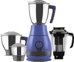 Butterfly 750 watts PEBBLE PLUS 750 Juicer Mixer Grinder (4 Jars, Blue)
