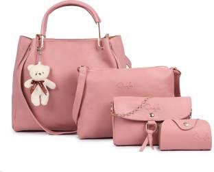 Qaafa Women Pink Hand-held Bag
