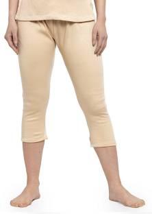 UZARUS Women's and Girls Solid Thermal Bottom Pant Payjama Pant Women Pyjama Thermal