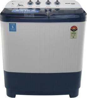 Voltas Beko 7 kg Semi Automatic Top Load White, Blue