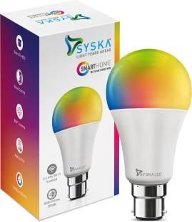 Syska Smart Wi-Fi Led Bulb 9W 16Million Shades Smart Bulb
