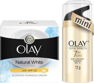 OLAY Natural white day cream plus total effects 12g
