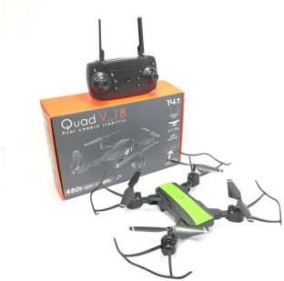 Mubco Quad V_18 Drone With 480p WiFi Camera & RC App Control Altitude Hold Fordable Selfie Drone Assor...