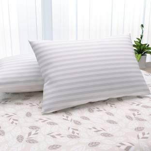 LA VERNE Microfibre Stripes Sleeping Pillow Pack of 2