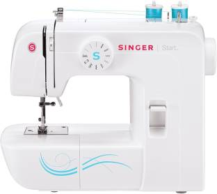 Singer 1304 Start Sewing Machine with 6 Built-In Stitches, Free Arm Sewing Machine - Best Sewing Machi...