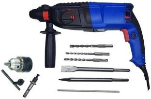 INDITRUST 1200W 26mm 2-26 DRE with 3 SDS Bits,2 Chisel,1 Depth Gauge, 13mm drill chuck and SDS adaptor...