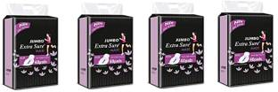Extra Sure Sanitary Pads for Women with Wings   Dry-net Soft & Comfortable Sanitary Napkins for Day & Night Protection - XXXL (combo pack of 4) [160 pads] Sanitary Pad