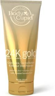Body Cupid 24 k Gold Body  Scrub