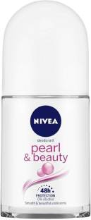 NIVEA Pearl & Beauty Roll On (Pack of 1) Deodorant Roll-on  -  For Women